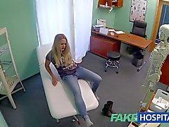 FakeHospital Dizzy блондинки принимает сперма в жопе
