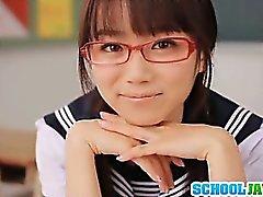 Lovely Asuka Hoshino hardcore action with a nice rear fuck