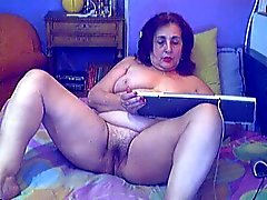 Griekse oma webcam