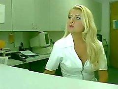Sexy nurse makes this tranny hungry