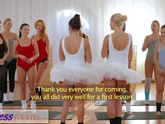 Fitness Odaları Petite bale öğretmenleri gizli üçlü