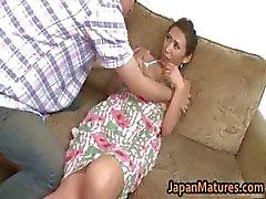 Asuka Yuki Hete rijpe Aziatische model