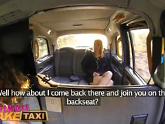 Mujer taxi falso Córnea picaruela tiene sexo en taxi de vapor con el bebé holandesa bisexuales
