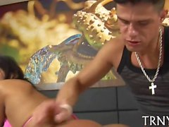 hot tranny savors sex delights film