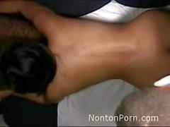 Indonésio Maid fodido em Hong Kong