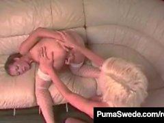 Sex Crazed Puma Swede Teaches Alicia Alighatti Ass 2 Mouth!