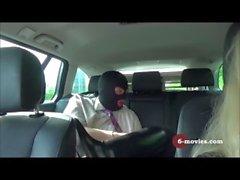 6-películas - Paseo en coche caliente con un desconocido enmascarado -