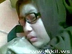 Pelajar PMS Berkerudung ( mulus memek )