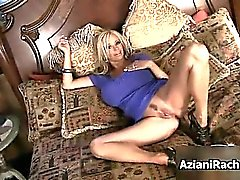 Busty whore dildo fucked her pussy part4