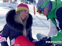 Haley Hill och Katrin Tequila Har du ett Alpine