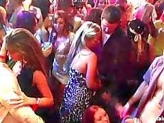 Bi girls fucking dicks at wild party