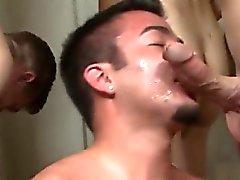 Gay по сексуальная старше Кайла Маркировка - Кончать в лицо цель!