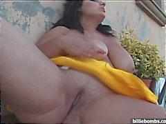 Huge tits in der Bikiniober