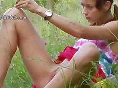 bielorruso Natasha volver a la naturaleza