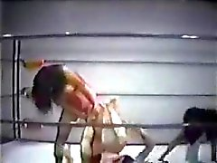 Vintages Gemischte Pro Wrestling 2. Beat mit Vino