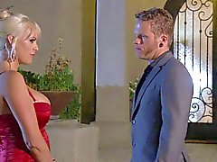Busty blonde stromy Daniels gets rammed