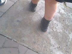 gordinha rabuda vestido rua 2