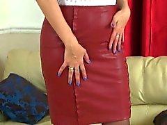 Pantyhosed MILFs принцессой Леей и Софии из Англии