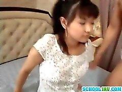 Tão bonito adolescente menina asiática