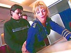 Shayla LaVeaux - Avion d'air de Gangbang