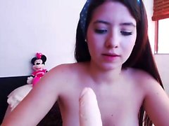 Vídeos de la masturbación de la adolescencia de Busty latina