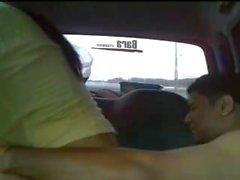 sri lankan пара веселиться в фургоне
