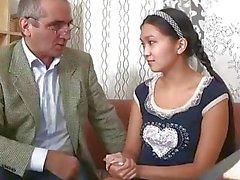 Alte Lehrer geben einen guten Fick für cute asian teen