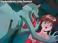 Étonnant d'Anime Films Avec Succion Part4 rigide