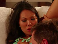 Asa Akira s hot asian hole stuffed