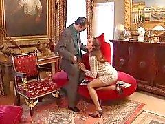 Длинный ноги Европы офис девушки