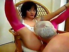 Парня отбывает ледибой Mistress