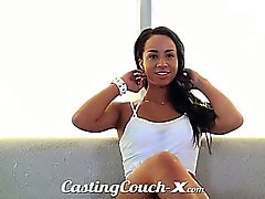 Casting Couch-X Athletic farm girl loves sex for cash