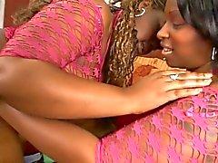 Ebony hotties liefde krijgen butt - geneukt