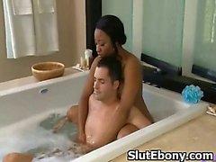 Afro Hottie Pussy Butt yılında Penetrated