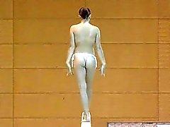 Nudist gymnastik / Голая гимнастка