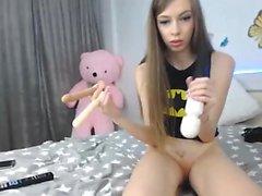 Lesbische Teenie Pussy Spielzeug in exzellenter HD