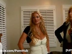 Amazing Puma Swede Kelly Madison Situationen Dreifach Big Titted Cumswap !