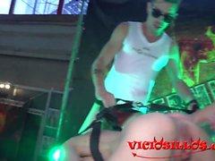 Agatha Fox, Aaron Lautner y Alejandor Chus show bisexual