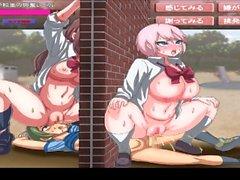 """Hentai-Spiel """"der Grund, den ich in einem Loch bin stecken"""""""