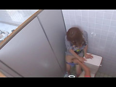 Mosaic: Fucked in a public toilet Vol. 1