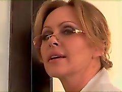 Blonde caliente folla Negro Gallo En Frente De Mi marido