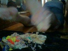 Bagger barfuß Doppel Kuchen Crush mit Spiel doh