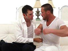 MormonBoyz - Muscle Daddy Seduces a Young Guy