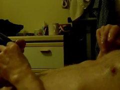 Неторопливо Wanking to Porn