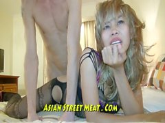 Beauiful Blondes asiatischen Pleading Fuck My Esel