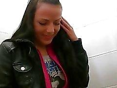Pretty Tsjechisch meisje omhoog geschroefd voor je geld
