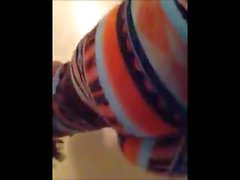 Sexy ebony poppin and twerking