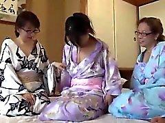 CME-002 Maduras Três Leslie Viagem Hyogo Asago Hen