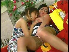 Aida Lesbian Scene # 5