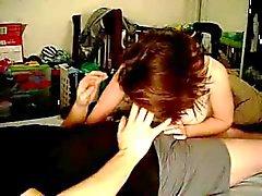 Casal caseiro amador é fazer amor